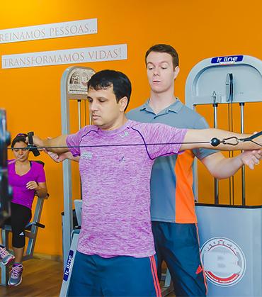 musculação com personal trainer